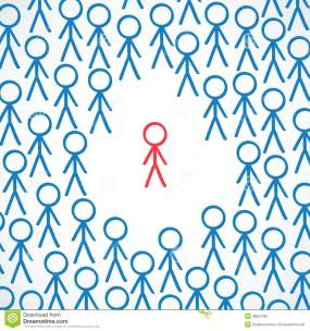 conceptual-individual-surrounded-crowd-vector-illustration-one-highlighted-other-stick-figures-38557336.jpg